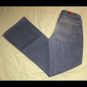 AG Anthropologie Gemini Bootcut Jeans Sz 25 X 33